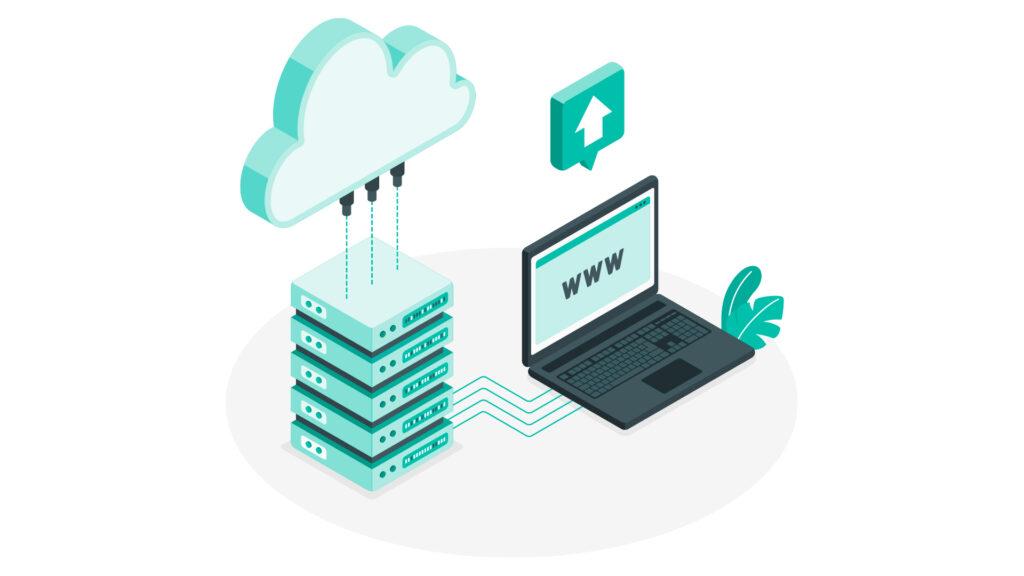 Contrata un hosting y dominio propios