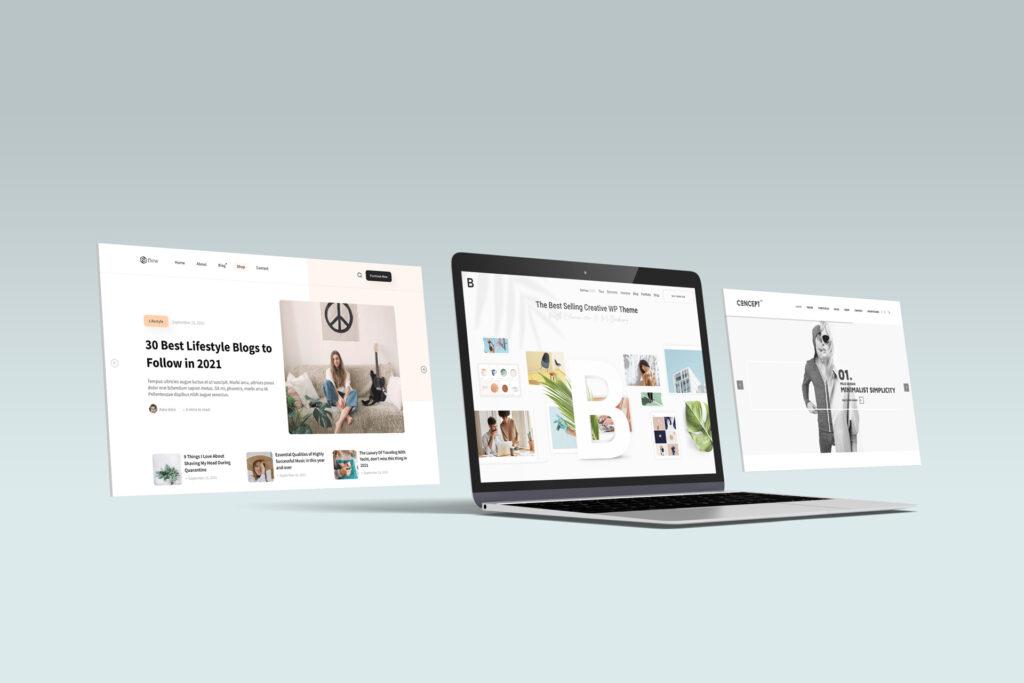 Diferentes tipos de web para diferentes objetivos