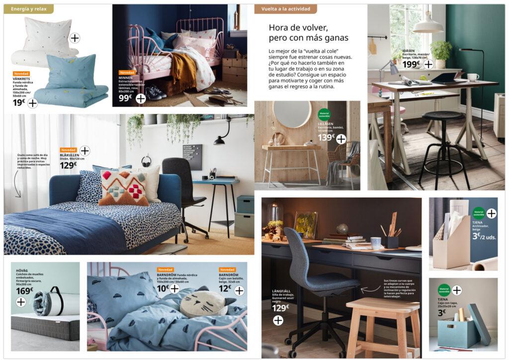 Diseño catálogo producto Ikea